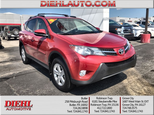 Pre-Owned 2013 Toyota RAV4 XLE