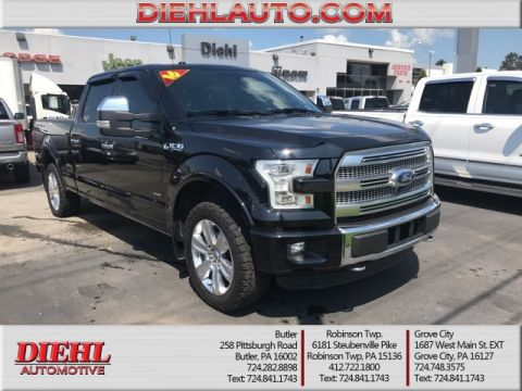Pre-Owned 2016 Ford F-150 Platinum